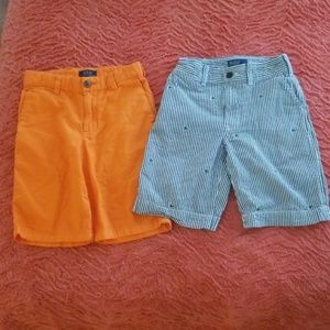 2 pair of boy shorts